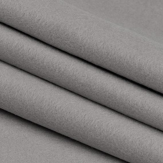 Acrylic Felt By The Yard Light Gray 72 Wide X 1 Yd Long X 1 16 Thick Felt Felt Sheets Yard