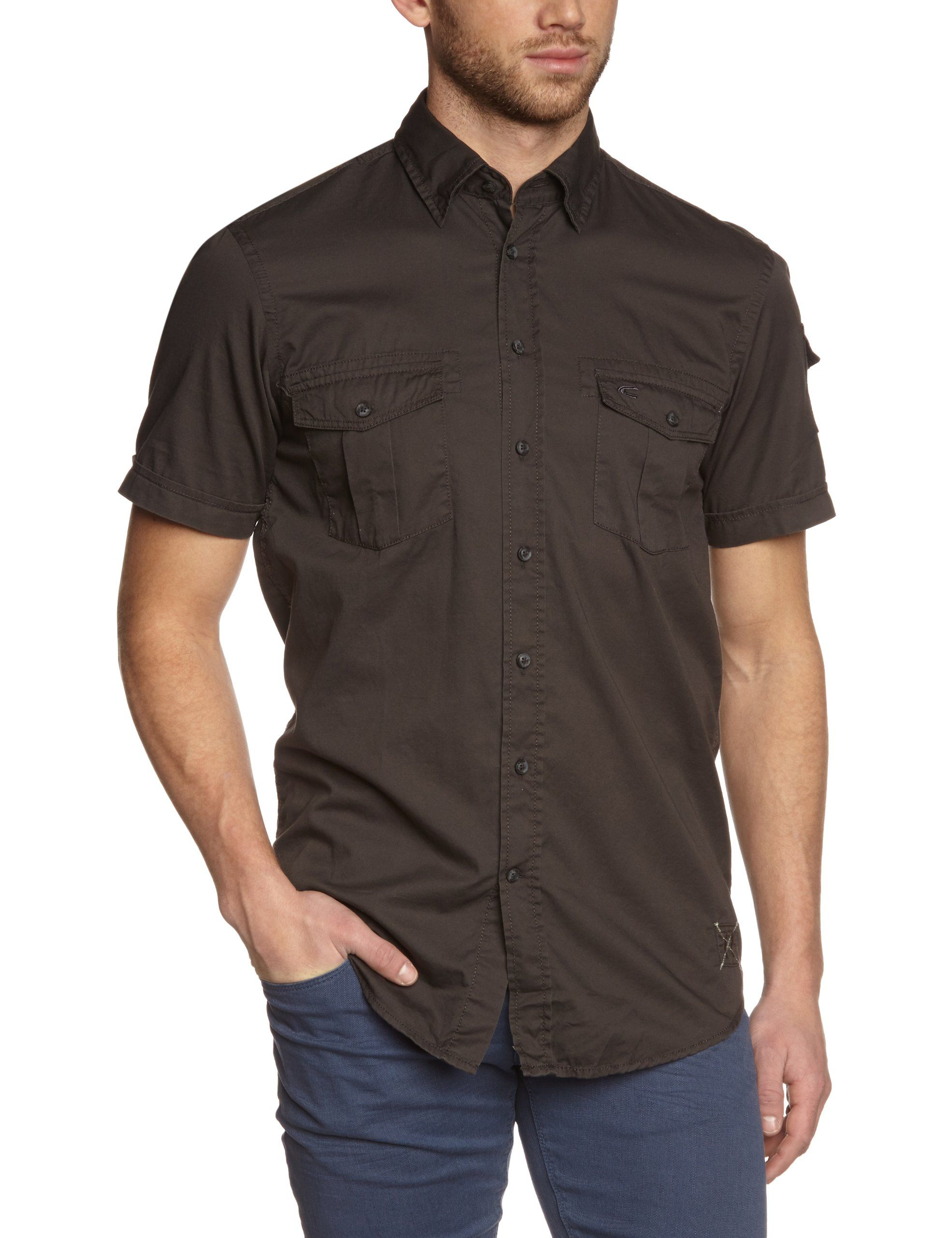 Camel Active - Camisa de manga larga para hombre: Amazon.es: Ropa y