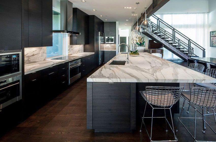 Beautiful Black Kitchen Cabinets Design Ideas Black Kitchen Cabinets Luxury Kitchen Design Dark Wood Kitchens