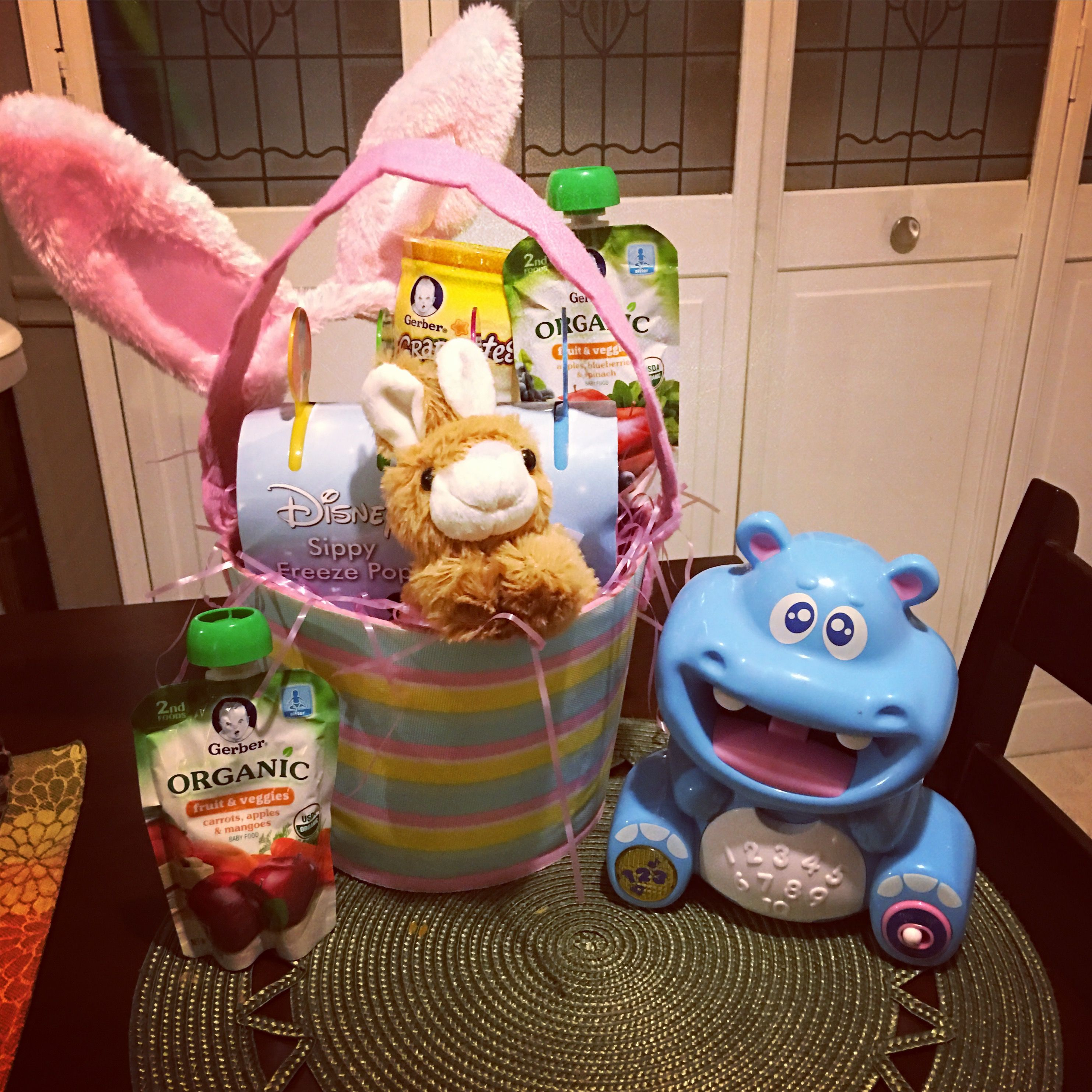 Babys first easter basket kept it sugar free for my daughters babys first easter basket kept it sugar free for my daughters first easter negle Image collections