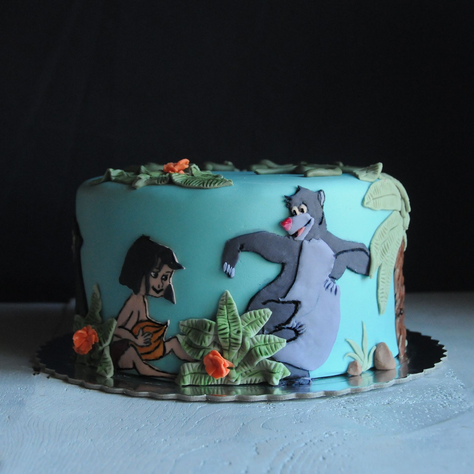 Disney Cake Decorating Book : The Jungle Book Cake is a Nostalgic Disney Sweet Book ...