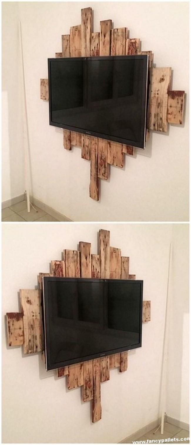 Unique Diy Pallets Tv Console #palletbedroomfurniture