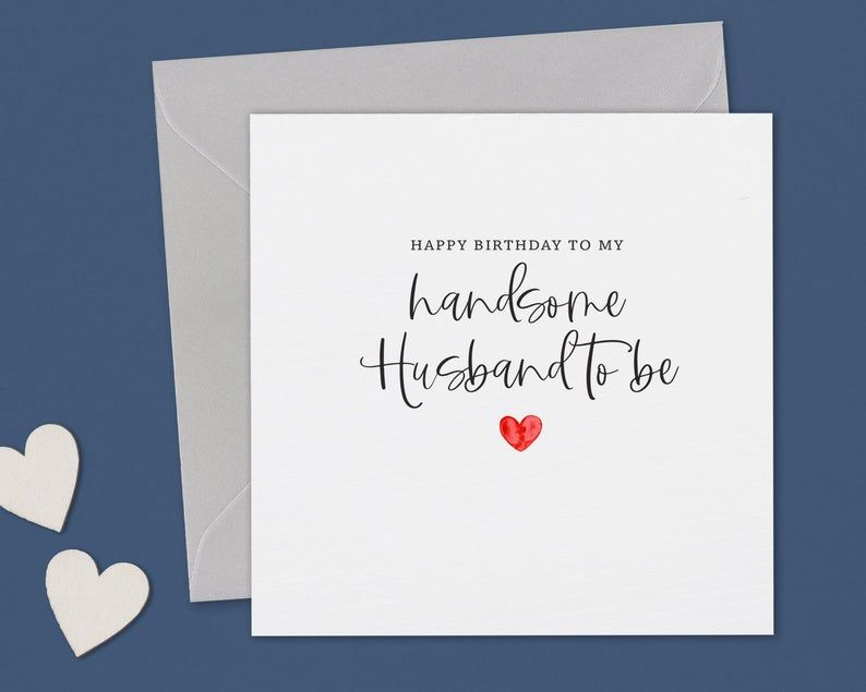 Fiance Birthday Card Birthday Card Fiance Husband To Be Birthday Card Card For Fiance Fiance Card Happy Birthday Card Fiance Birthday Fiance Birthday Card Valentines Card For Husband