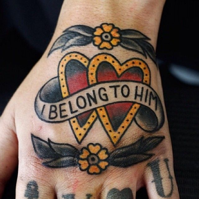 Enrico Grosso Jolie Rouge Tattoo London Barbara Castillo Traditional Hand Tattoo Traditional Tattoo Hand Tattoos