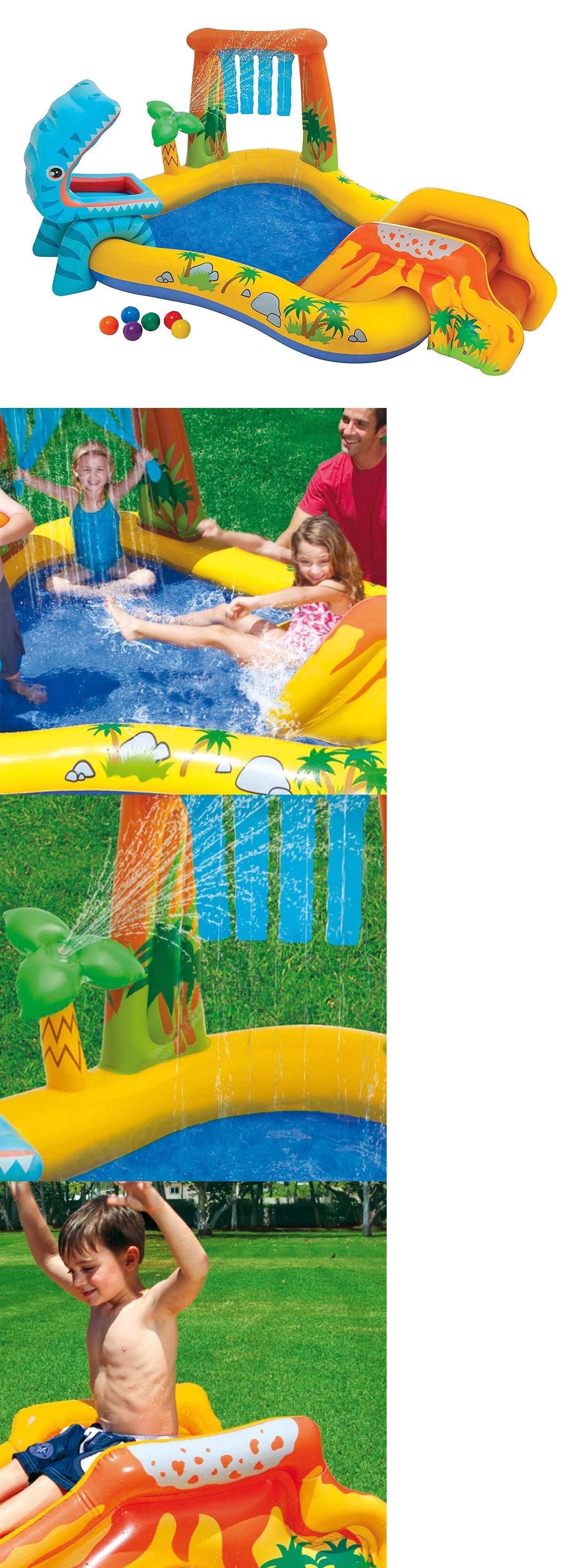 water slides 145992 inflatable water slide park pool play