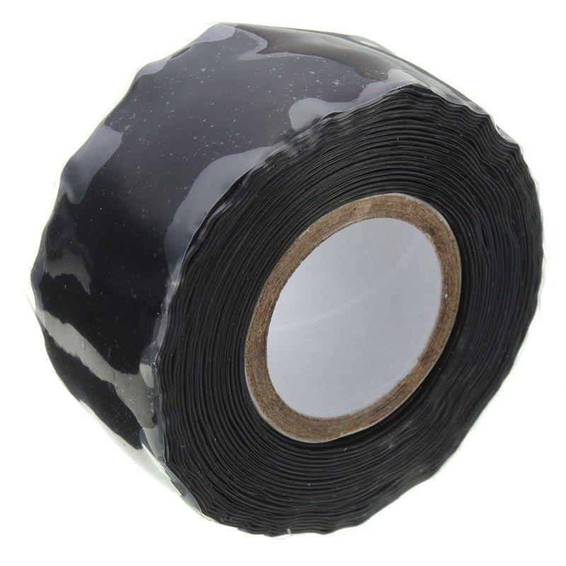 Black New Waterproof Silicone Performance Repair Tape Bonding Rescue ...