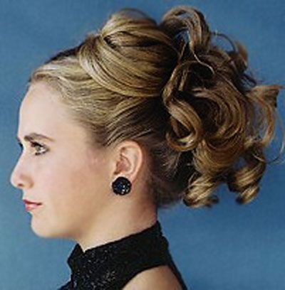 Elegant updo hairstyles for medium length hair 9simple updos for ...