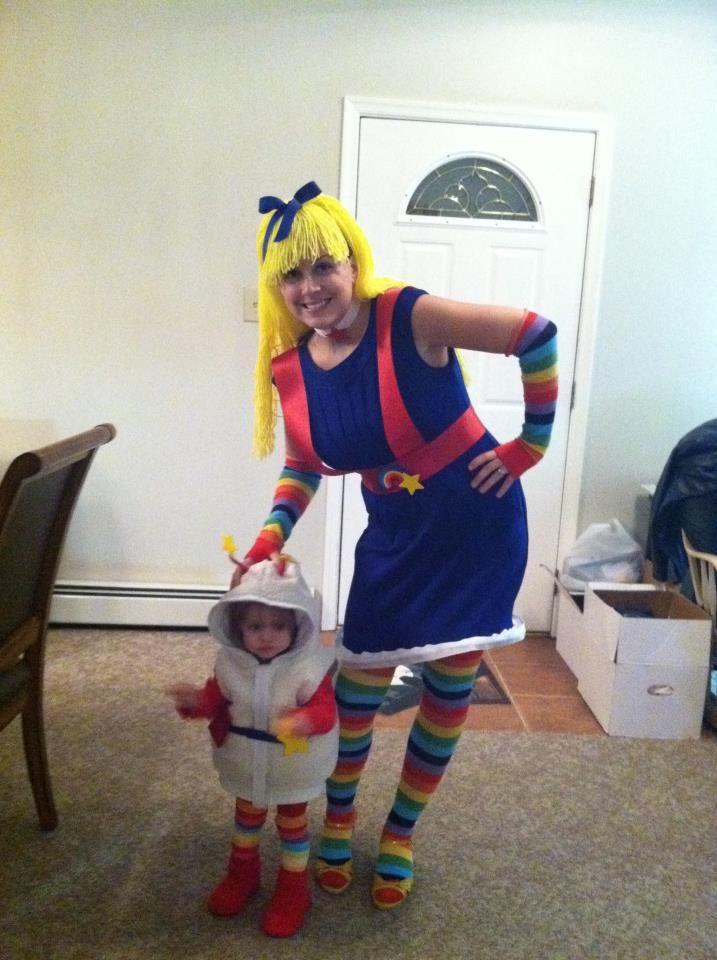Best homemade costume yet. Happy Halloween!!  sc 1 st  Pinterest & Rainbow Brite and Twink! Best homemade costume yet. Happy Halloween ...
