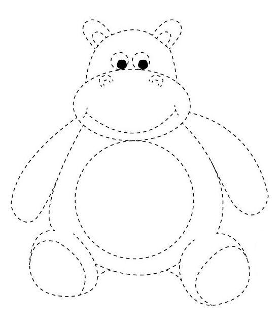 Раскраски обводилки для детей 5-6 лет | Раскраски ...