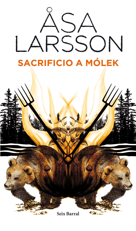 Un grupo de cazadores mata a un oso en los bosques cercanos a Kiruna. Cuando abren el vientre del animal, encuentran un dedo humano entre las vísceras.  http://www.imosver.com/es/libro/sacrificio-a-molek_9970017702