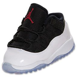 purchase cheap f8c1d dd54e Boys' Toddler Air Jordan Retro 11 Low Basketball Shoes ...