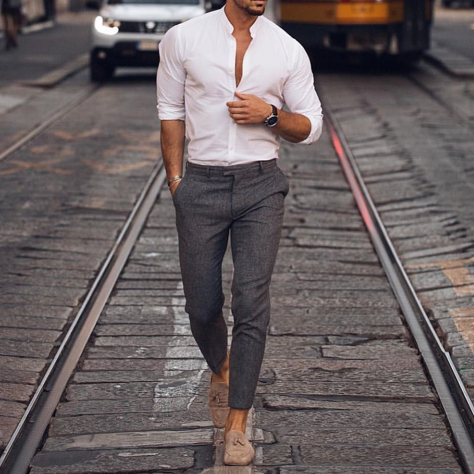 Best Men Fashion Outfit Ideas Stylish Men Casual Smart Casual Menswear Mens Outfits [ 958 x 958 Pixel ]