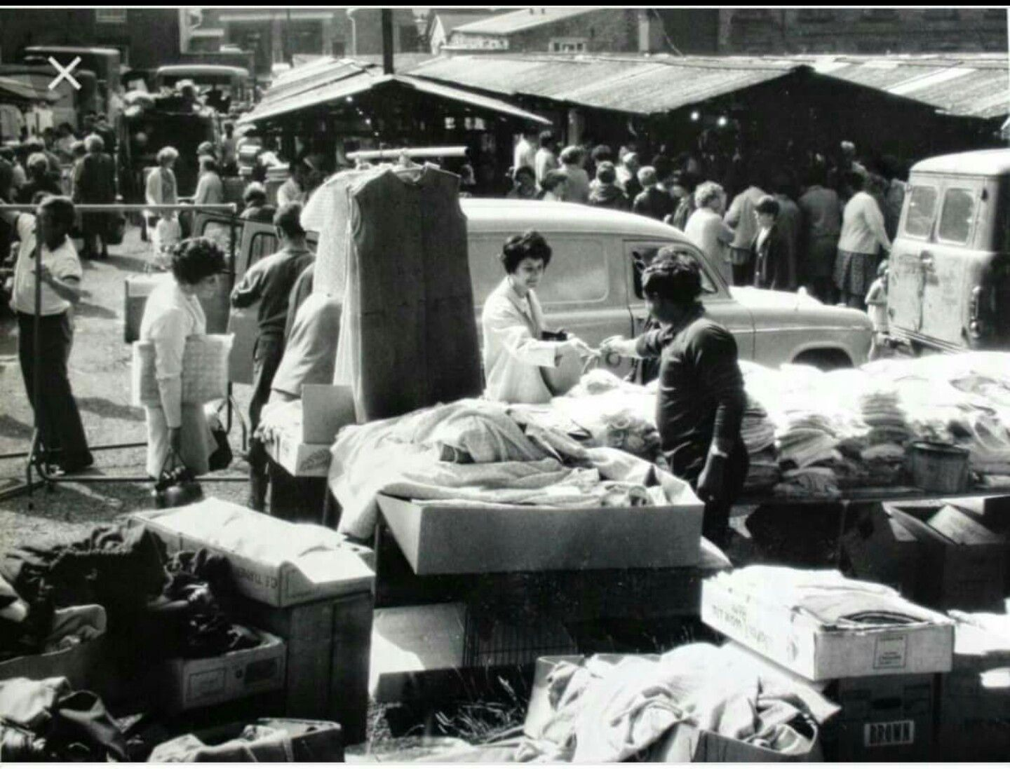 Middleton Market 1960s Greater Manchester Historical Vintage Photos