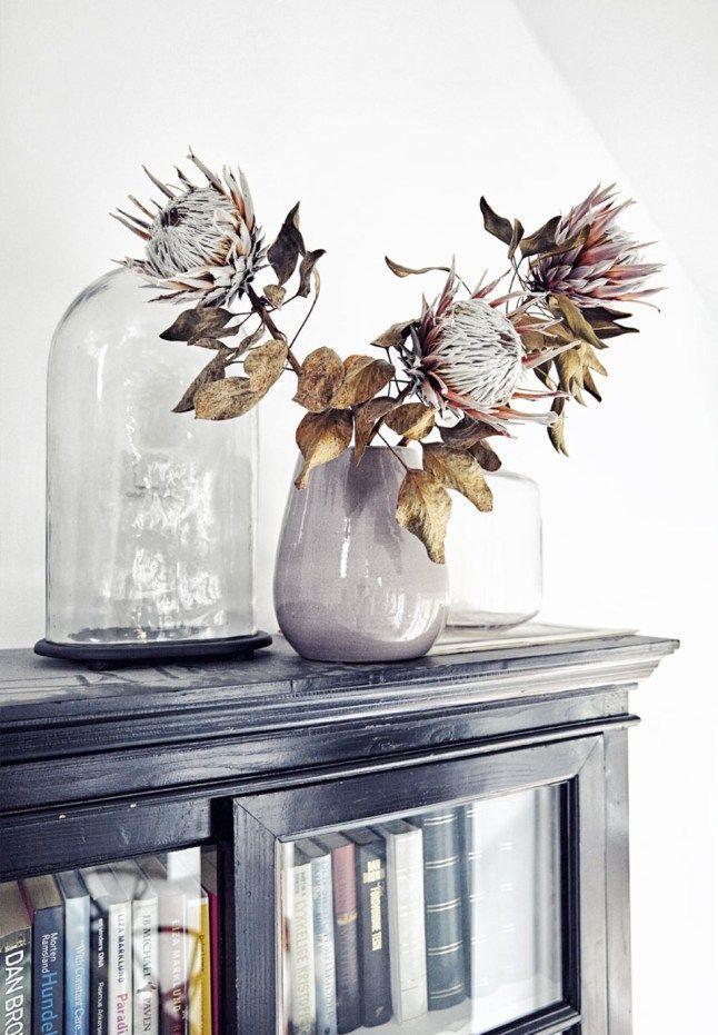 Ornate dried flowers | @styleminimalism