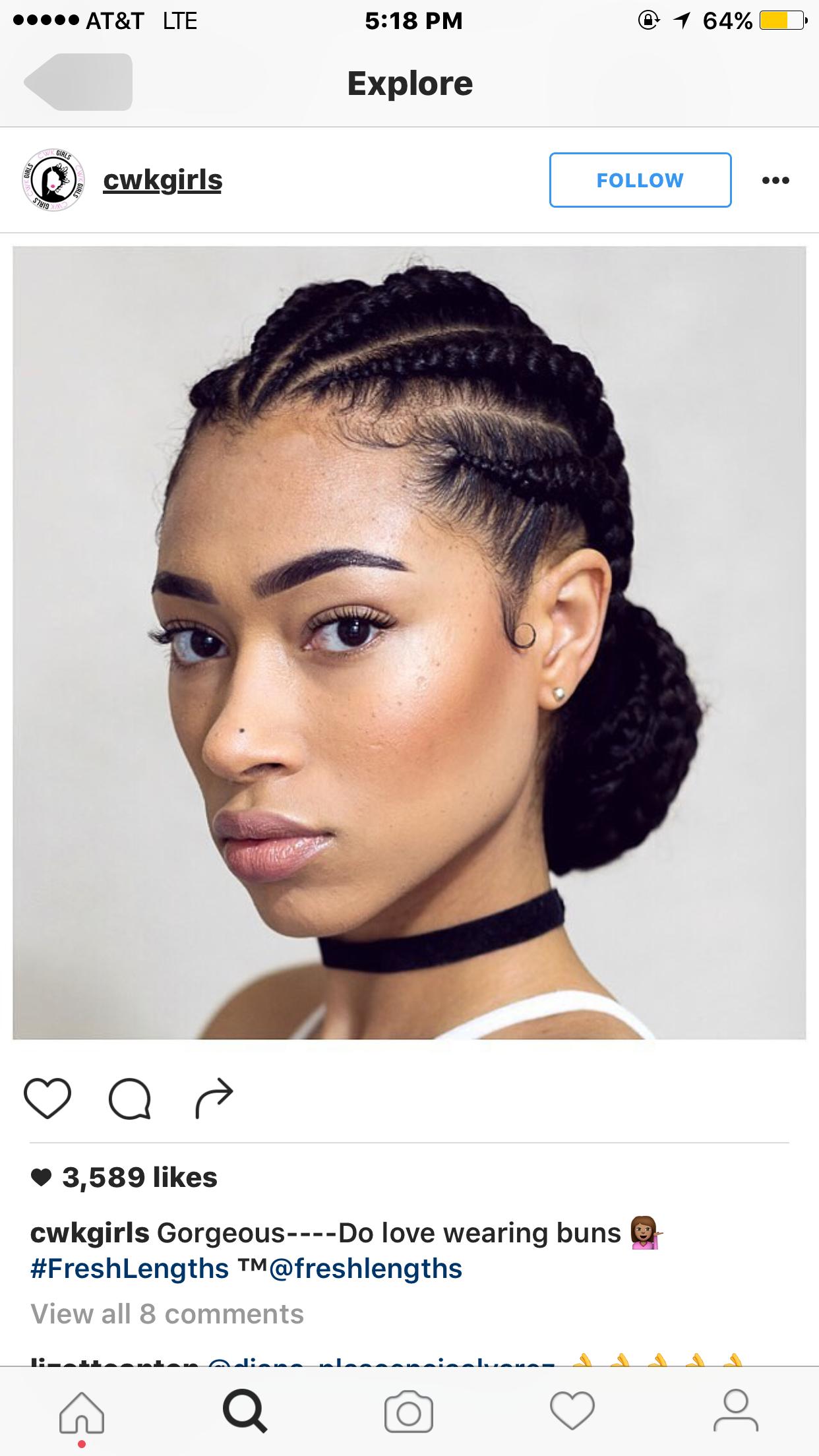 Pin by Monique Fullerton on Hair Pinterest