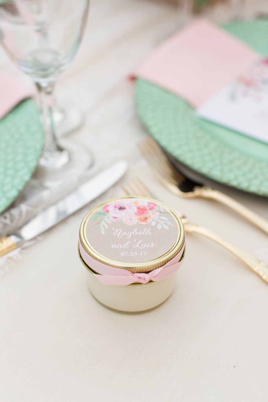 Backyard Wedding ideas. Wedding inspiration. Blush, mint and gold ...