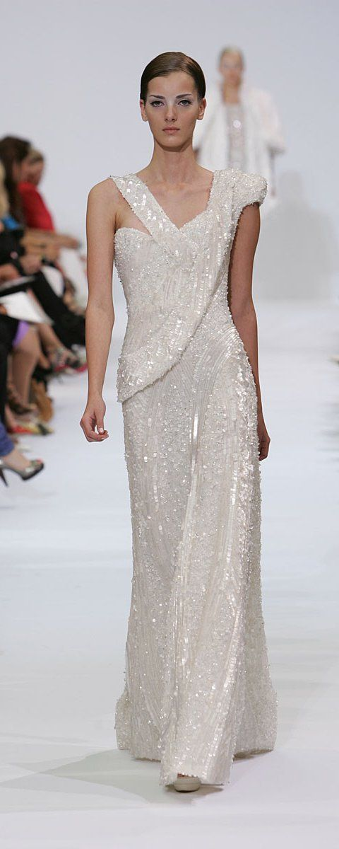Elie Saab Fall-winter 2009-2010 - Couture - http://www.orientpalms.com/elie-saab-991