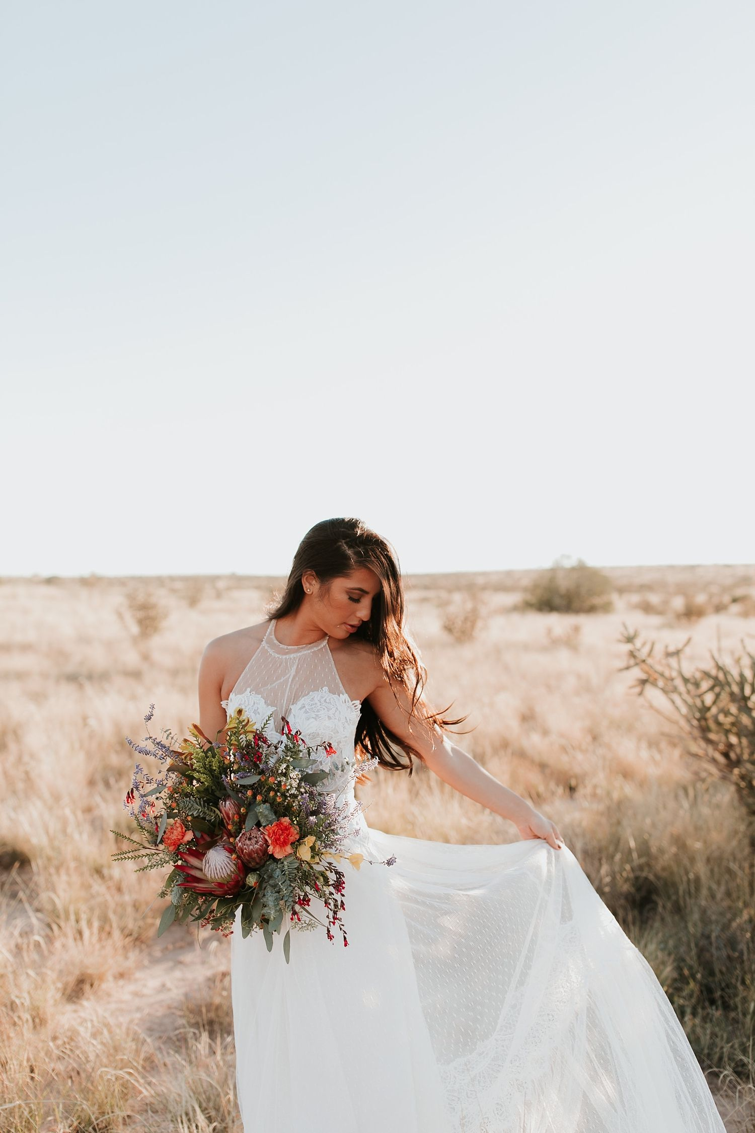 Sachi - A Desert Bridal Session | Pinterest