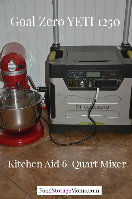 Kitchen Aid 6 Quart Powered By Solar Power