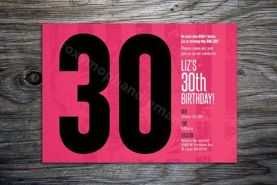 Pink black 30th birthday invite by xfoxymophandlemama on etsy pink black 30th birthday invite by xfoxymophandlemama on etsy 1200 filmwisefo