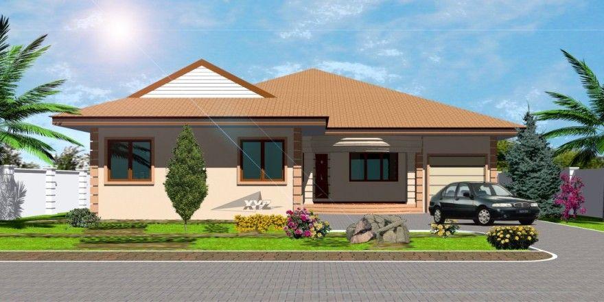 Architecture House Plan House Designs Ghana House Plans Ideas - site de construction de maison virtuel gratuit