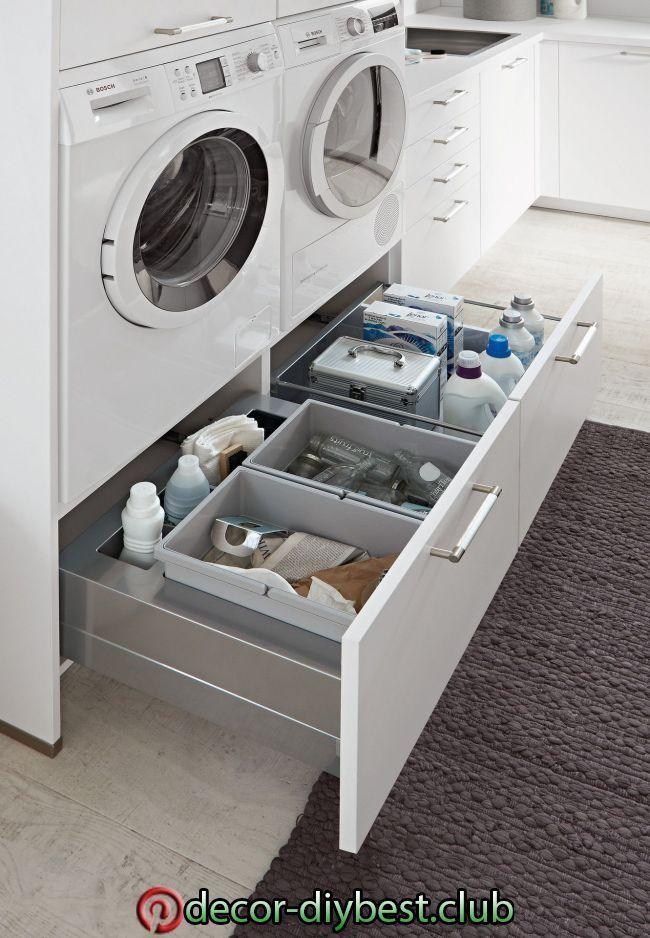 Photo of Hauswirtschaftsraum – bewusst kochen – europamoebel.at in 2020 | Laundry room de…