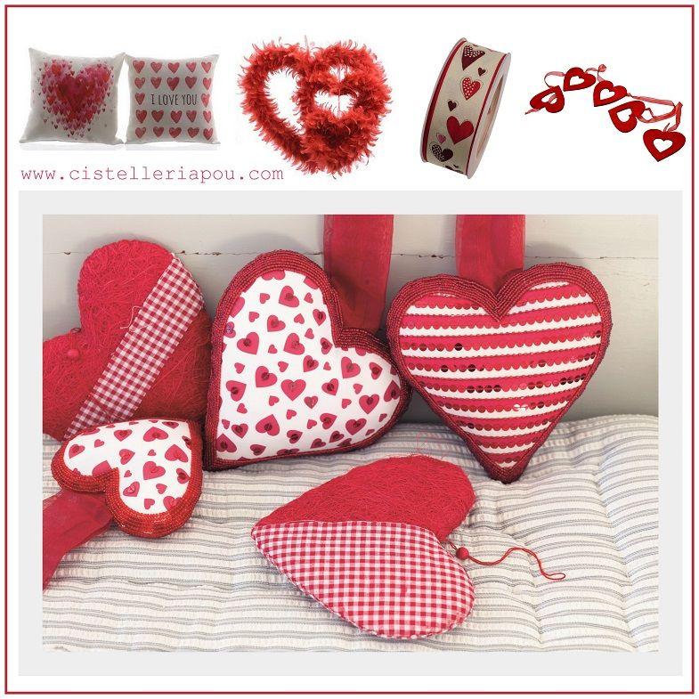 Cojines decorativos de san valent n corazones para for Decoracion san valentin
