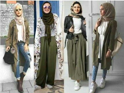 Baju Casual Hijab