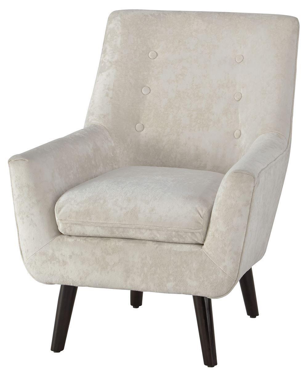 Zossen Ivory Accent Chair In 2020
