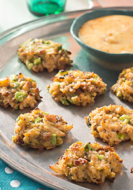 Appetizer crab cakes recipe