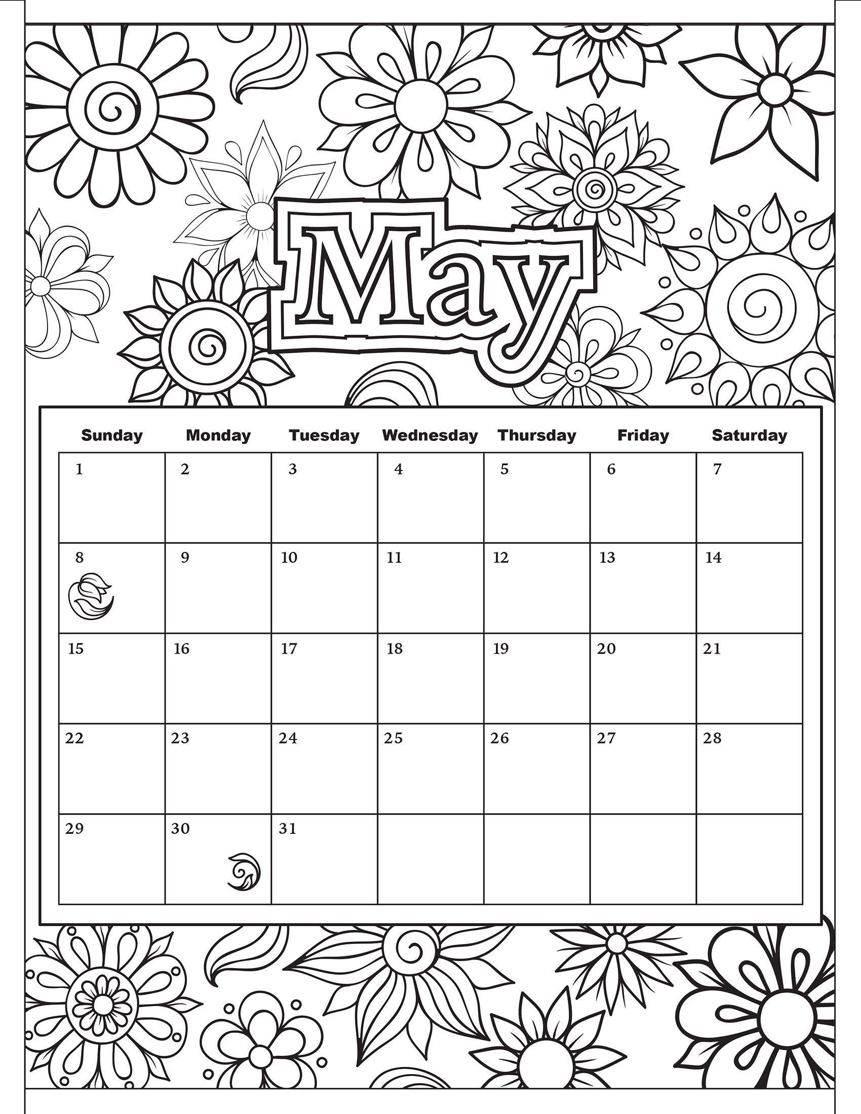 Printable Calendar Sheets - 2yamaha.com | 2200x1700