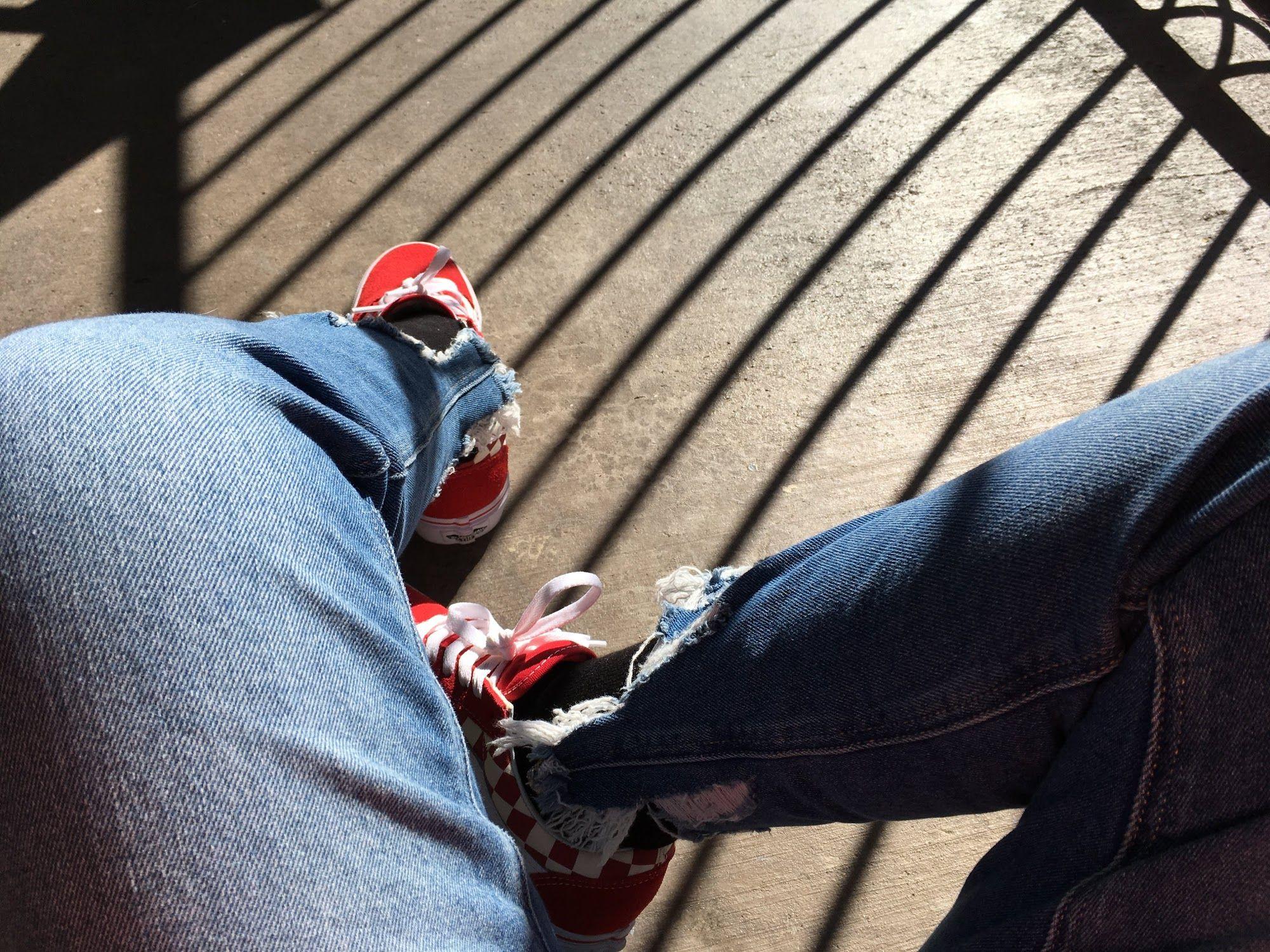 Red Shoes Black Socks Blue Jeans Red Shoes Black Socks Blue Jeans [ 1500 x 2000 Pixel ]