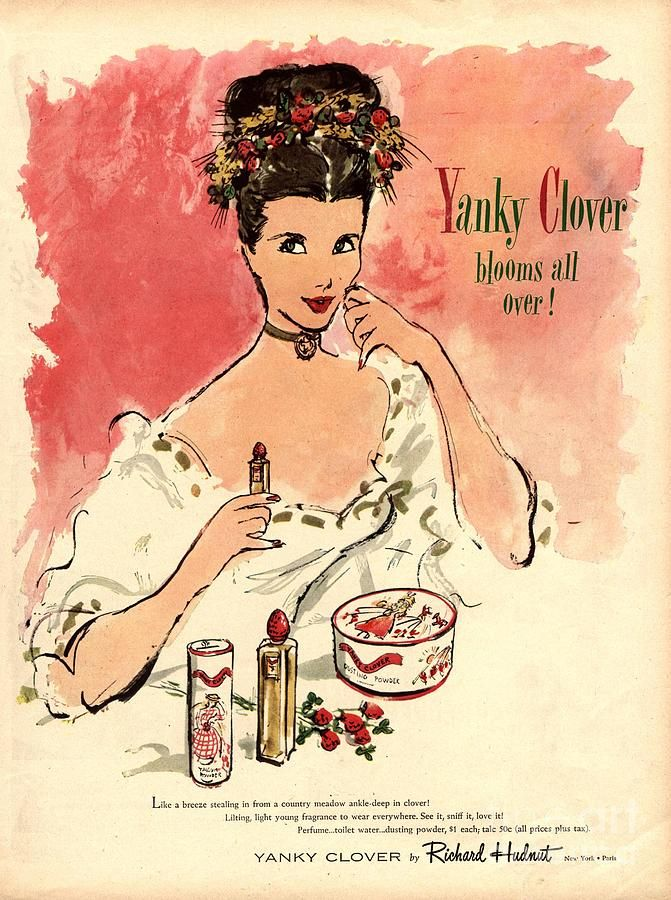 1930s Usa Yanky Clover Make,up Makeup by The Advertising