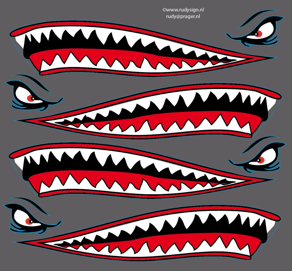 Airplane Shark Mouth Vector Tim Với Google Arte De Aviacion Pinturas De Motos Calcomania Para Auto
