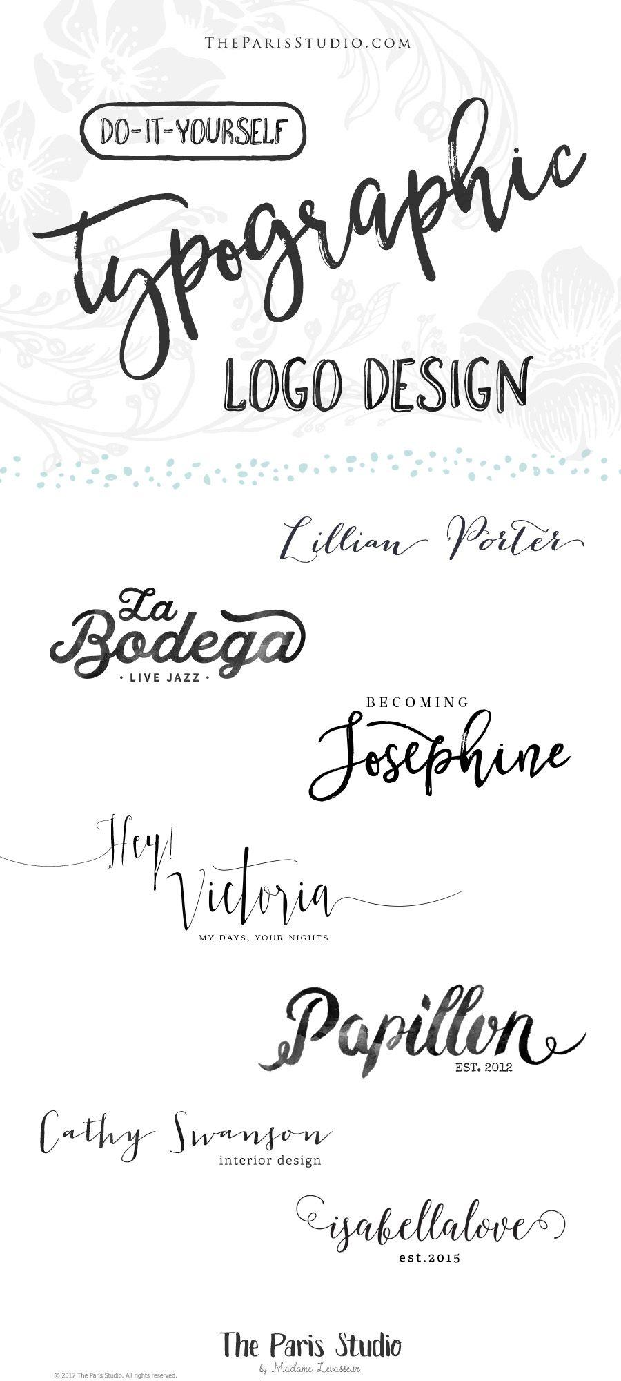 Convertidor De Letras Cursivas Para Tatuajes pay as you go: typographic logo #portfolio #logodesign