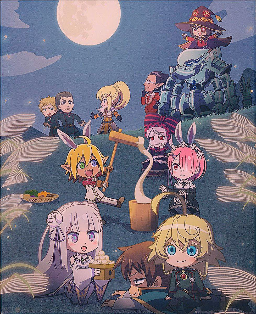 No Game No Life Saison 2 Date : saison, Isekai, Quartet, Quartet2,, (Saison, Quartet,, 異世界かるてっと,, Wallpaper,, Anime,, Anime, Crossover,