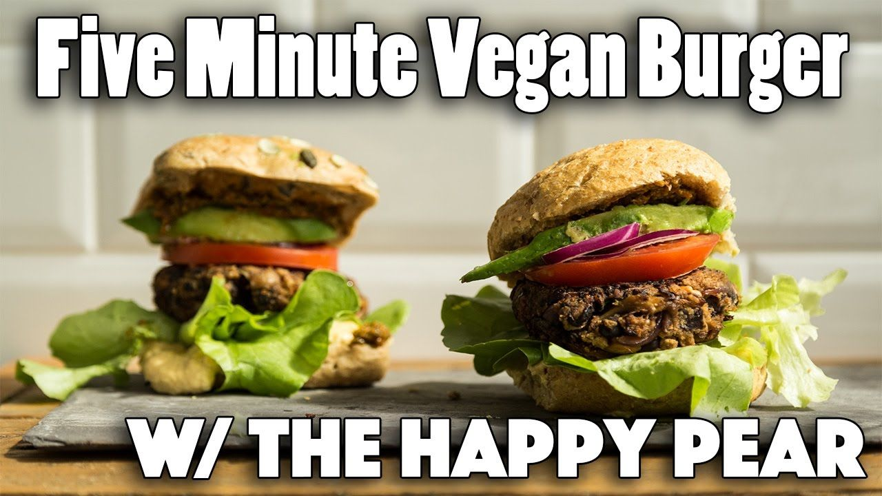 60 Recipes E Book Now Available Http X2f X2f Www Thecheaplazyvegan Com X2f Ebook Watch The Happy P Vegan Burger Recipe Vegan Burgers Vegitarian Recipes