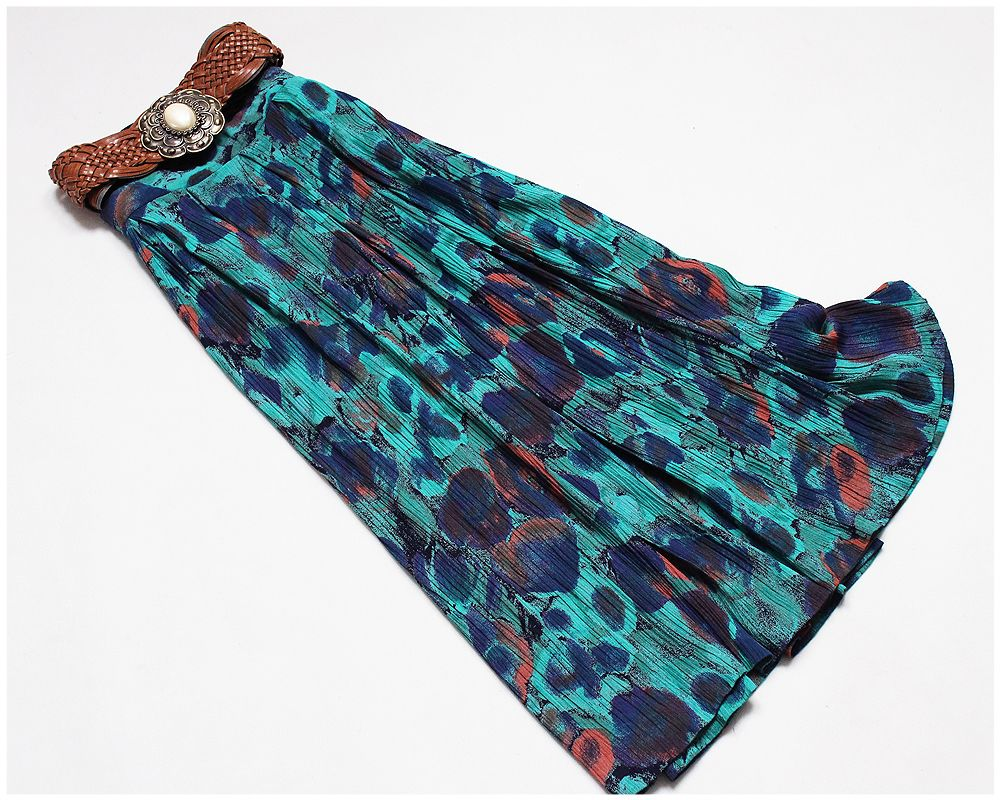 Bianco Plisowana Spodnica Vintage Kolory 40 42 44 7246412409 Allegro Pl Wiecej Niz Aukcje Tie Dye Dye Tie Dye Skirt