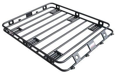 Defender Racks Are Made From 16 Gauge Fully Welded 1 Round Steel Tubing And Finished In A Textured Black Powder Coat Roof Rack Smittybilt Roof Rack Basket