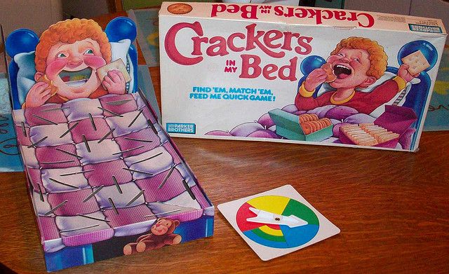 Crackers In My Bed Vintage Board Games Vintage Games Childhood