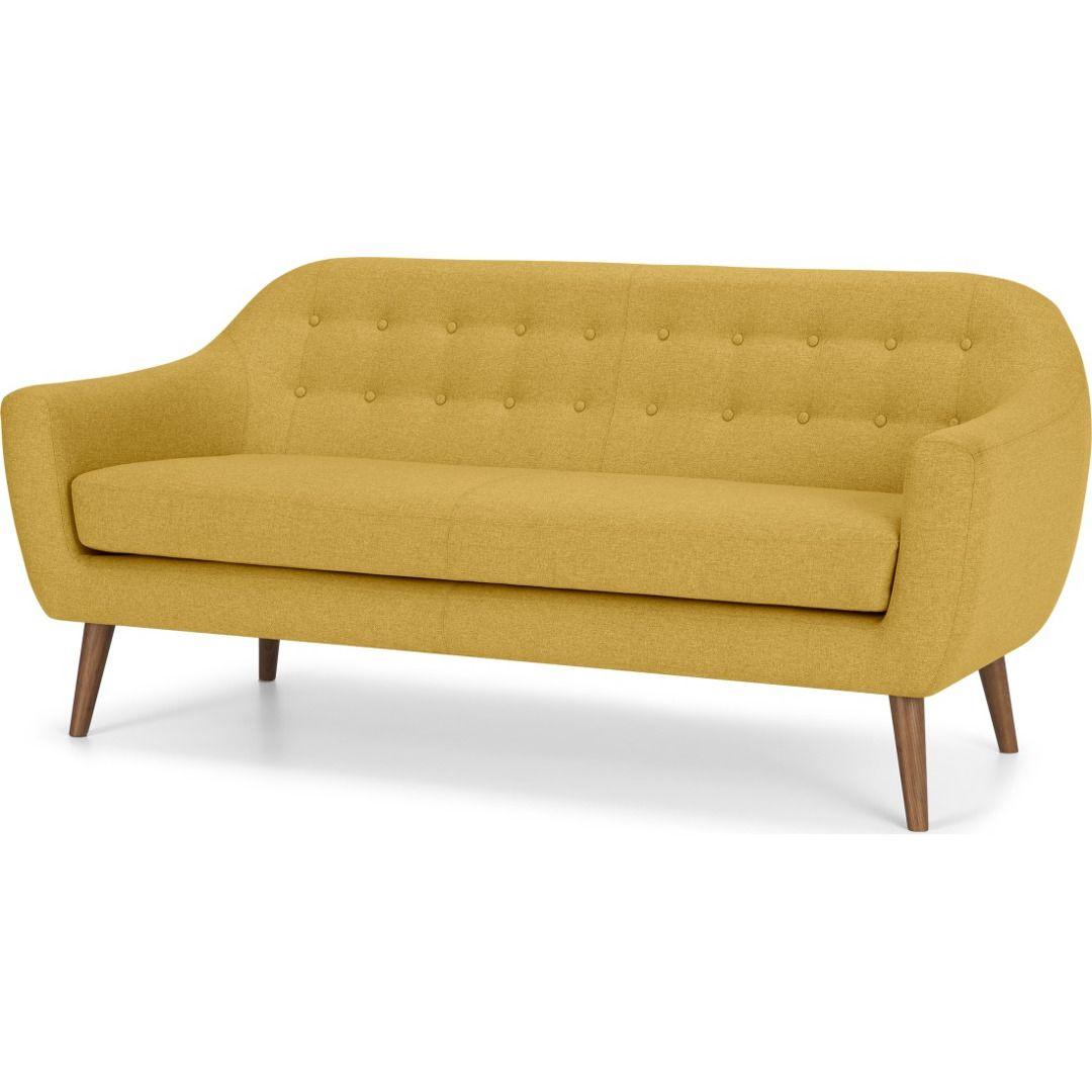 Ritchie 3 Sitzer Sofa Orleansgelb In 2020 Sofa 2 Seater Sofa Love Seat