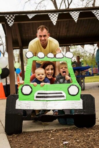 Monster Truck Photobooth Perfect For Any Birthday Party