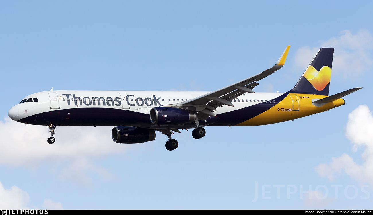 Airline Thomas Cook Airlines Registration G Tcvb Aircraft