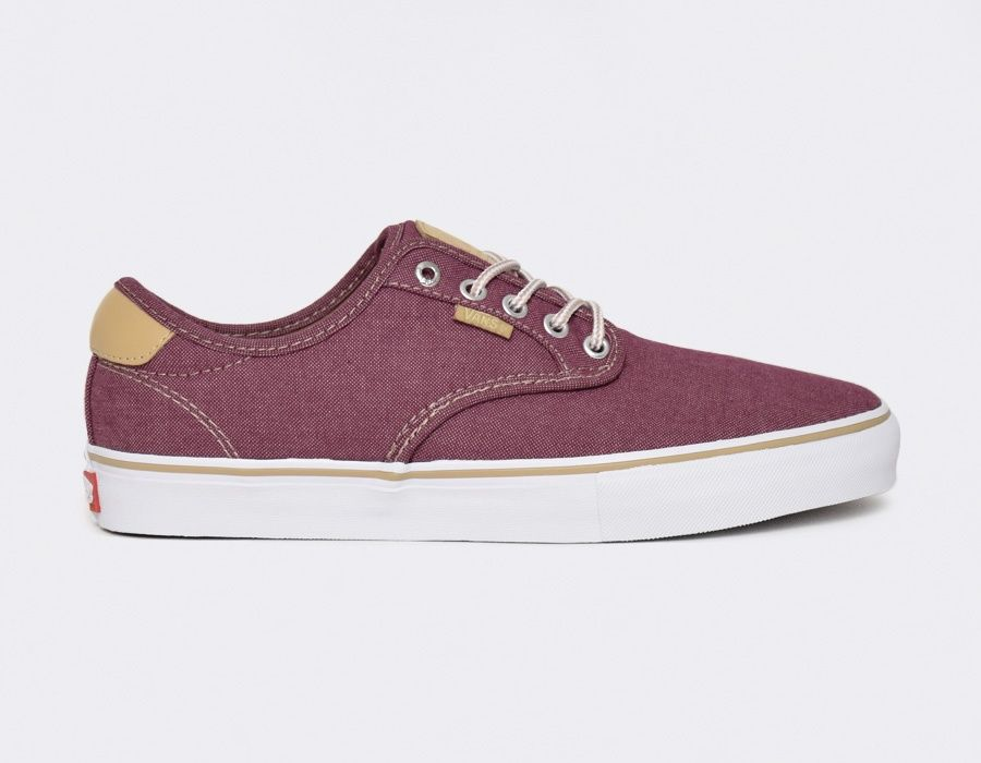 Vans Chima Ferguson Pro Oxford Burgundy #sneakers | Calzas
