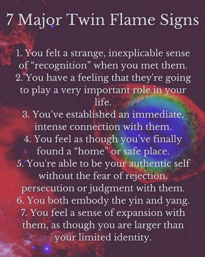 Signs from the universe soulmate