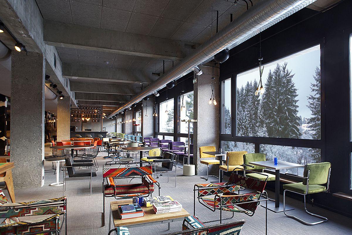 hotel totem - flaine - france #balsan #design #interior #interiors