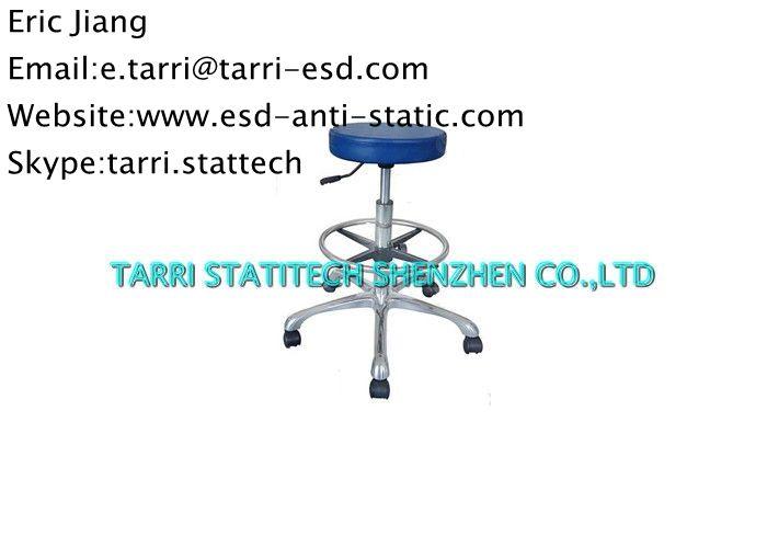 Ergonomic Lab Chairs Chair Blue Vinyl Desk Chair