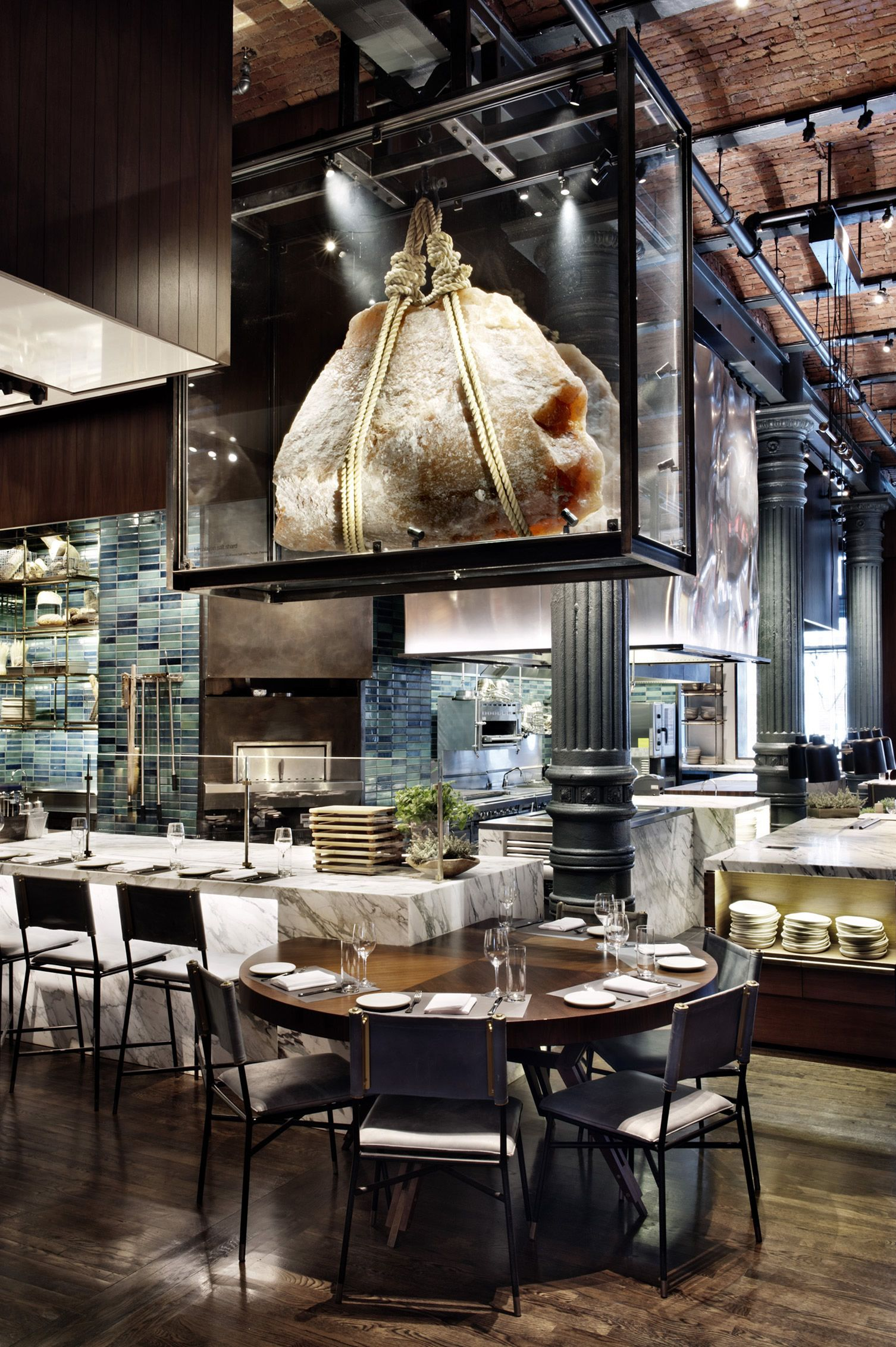 A rotating selection of guest chefs take up residence at the most open of open kitchens in nyc
