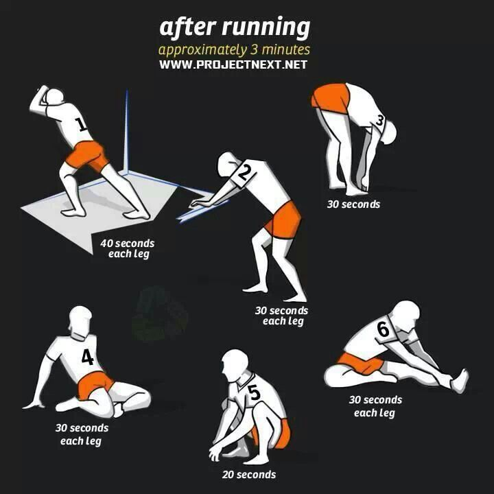 Stretches Before Running
