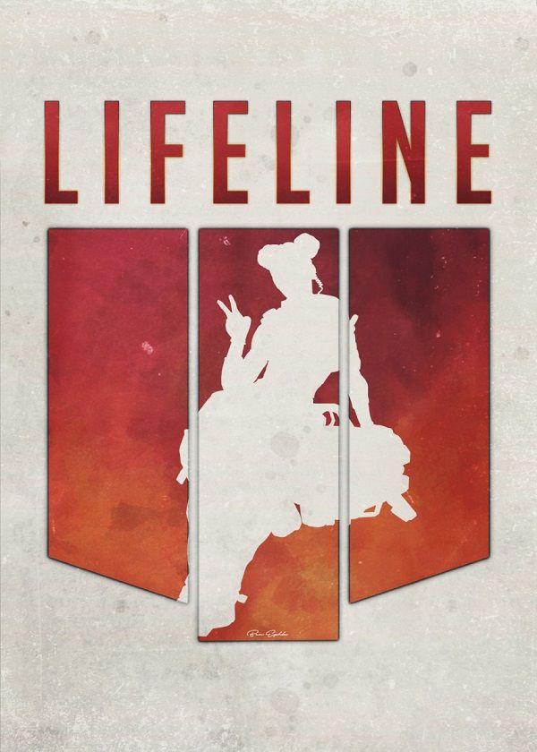 Apex Legends Minimalist Characters Displate Posters